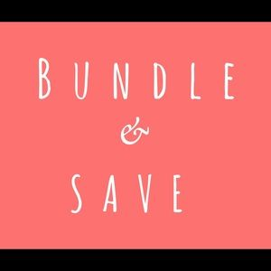 Jewelry - Bundle your favorite items and save!
